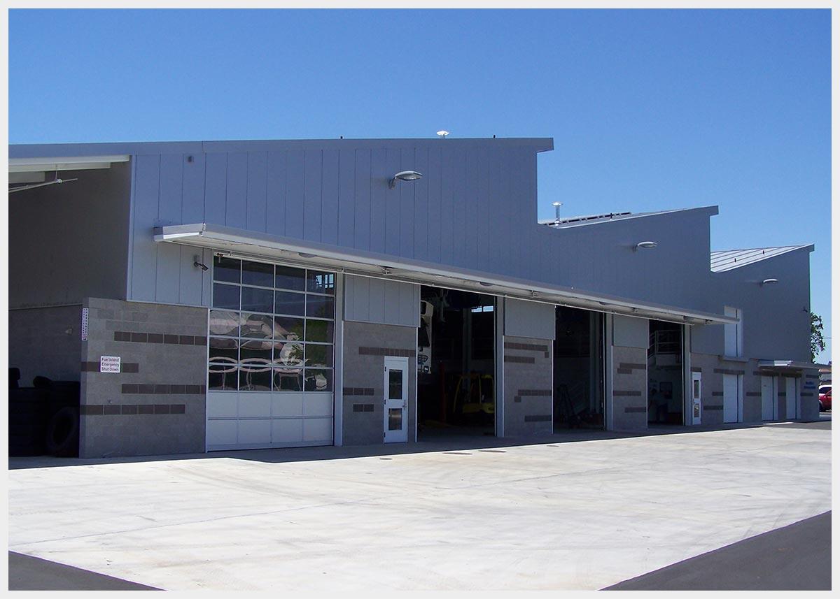 Shannon Masonry Construction - Commercial Block Masonry Contractor -  CMU Structure / Block Veneer Masonry Construction Project - Mendocino County CA