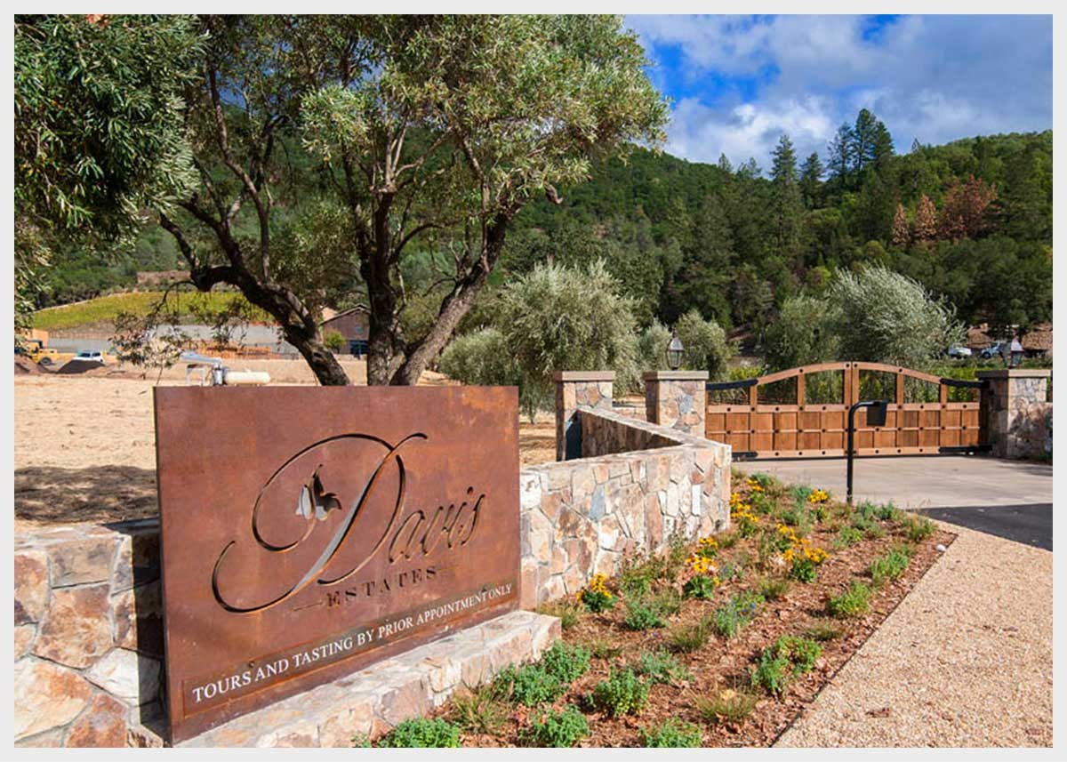 Shannon Masonry Construction - A Winery Commercial Masonry Contractor - Stone Masonry Construction Project - Calistoga CA