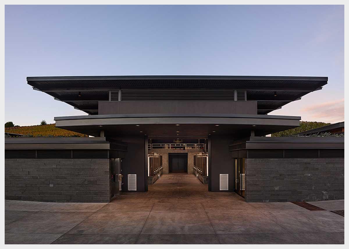 Shannon Masonry Construction - Commercial Winery Masonry Contractor - CMU Structure Stone Veneer Masonry Construction Project - Napa County CA