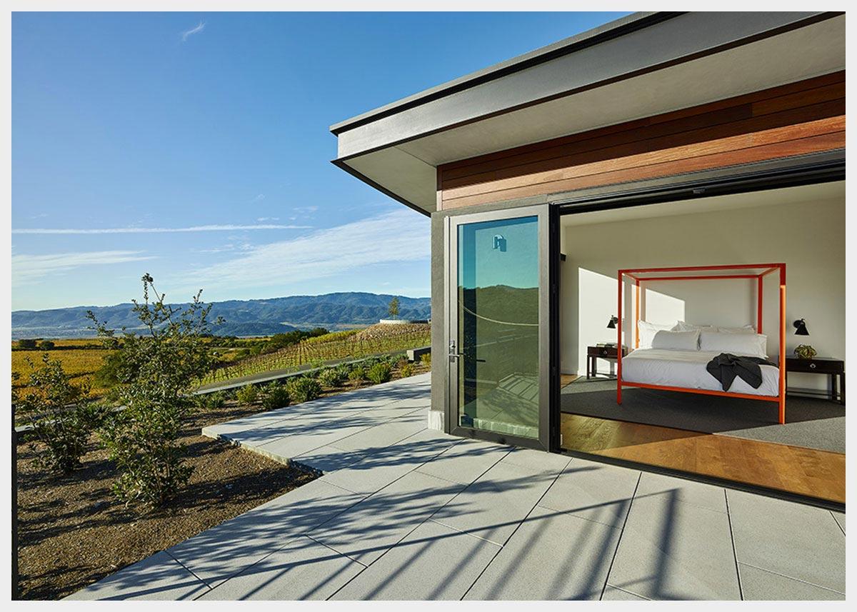 Shannon Masonry Construction - Commercial Winery Masonry Contractor - Stone Walkway Masonry Construction Project - Napa County CA