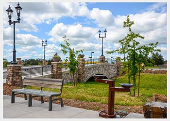 Shannon Masonry Construction - Commercial Stone Masonry Contractor - Stone Bridge Masonry Construction Project - Petaluma CA