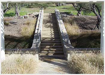 Shannon Masonry Construction - Commercial Stone Masonry Contractor - Stone Staircase Masonry Construction Project - Marin County CA
