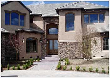Shannon Masonry Construction - Residential Stone/Brick Masonry Contractor - Brick Archway / Stone Façade Masonry Construction Project - Petaluma CA
