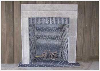 Shannon Masonry Construction - Residential Brick Masonry Contractor - Brick Rumford Box Fireplace Masonry Construction Project - San Rafael CA